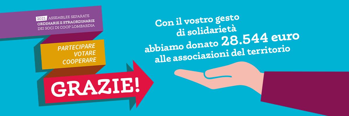 2021 Assemblee Coop Lombardia - Grazie per il voto